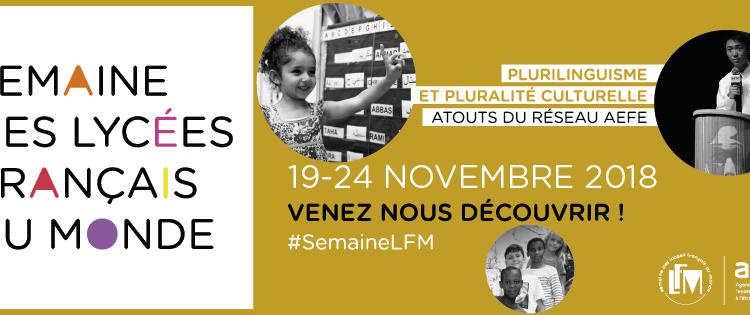La semaine des lycées français dans le monde